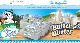 طراحی سایت بستنی وینتر